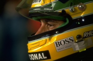 Senna deep in thought